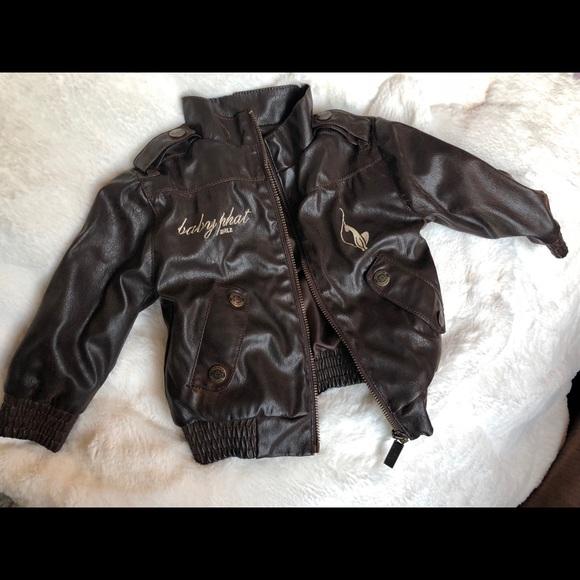 8f62bd4bfbaf Baby Phat Jackets & Coats | Infant Girlz Faux Leather Jacket | Poshmark